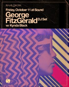 george fitzgerald framework sound nightclub october 2019