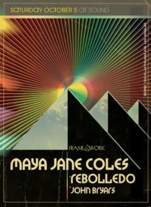 maya jane coles framework sound nightclub october 2019