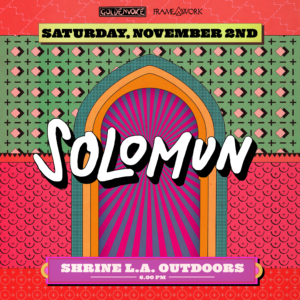 solomun the shrine los angeles outdoors november 2019