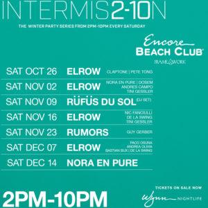 Intermission Encore Beach Club Framework Winter 2019